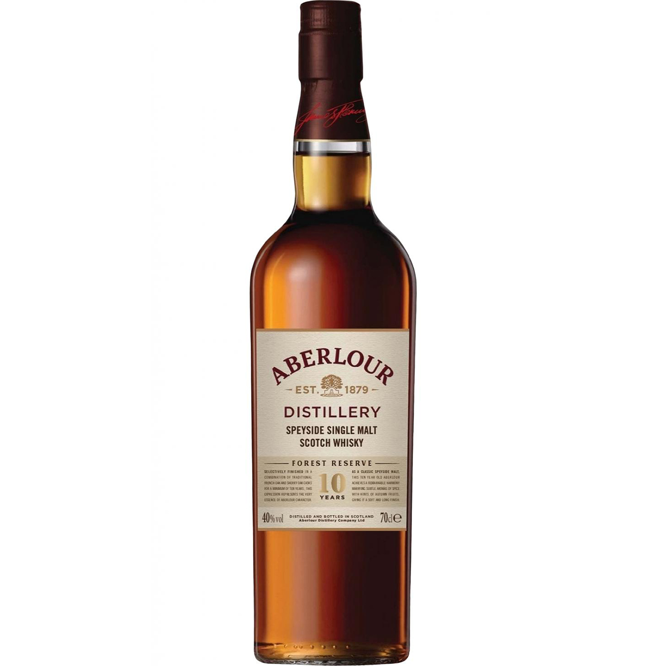 Read more about the article Aberlour 10 years – Forest Reserve