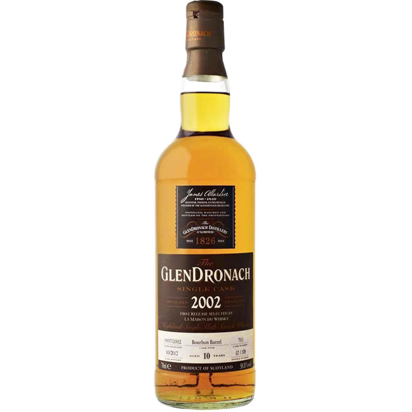 Read more about the article Glendronach 2002 10 years – cask #703