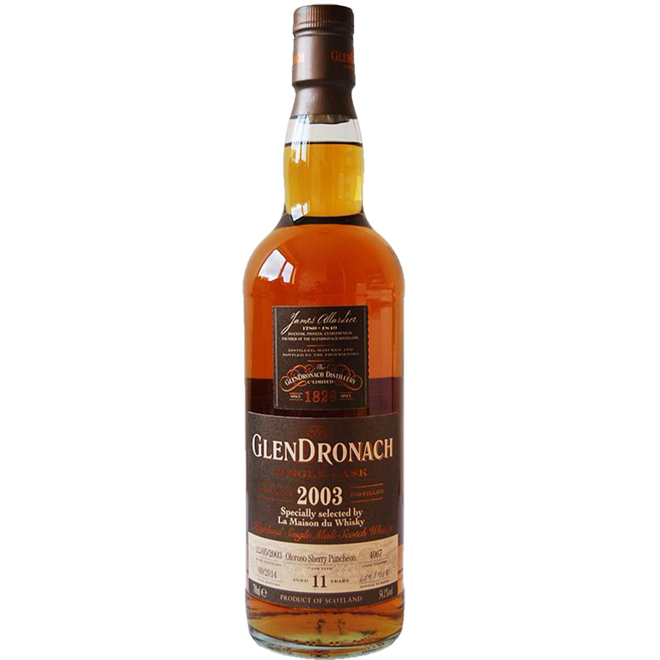 Read more about the article Glendronach 2003 11 years – cask #4067