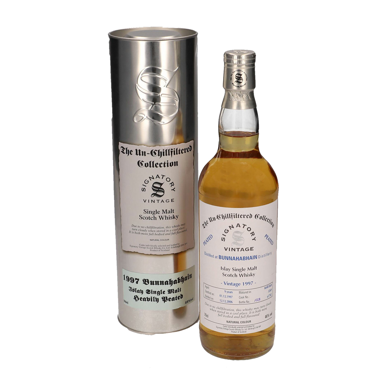 Read more about the article Bunnahabhain 1997 9 years – cask #5269