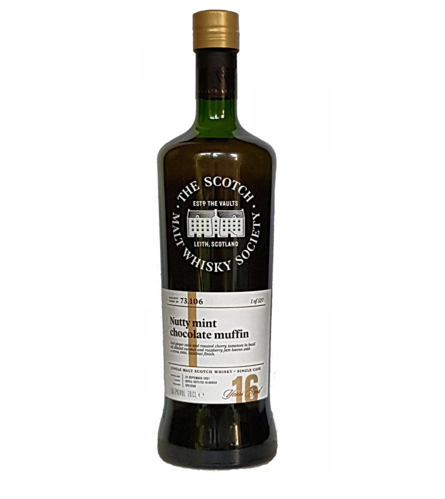 Aultmore 2001 16 years – SMWS #73.106