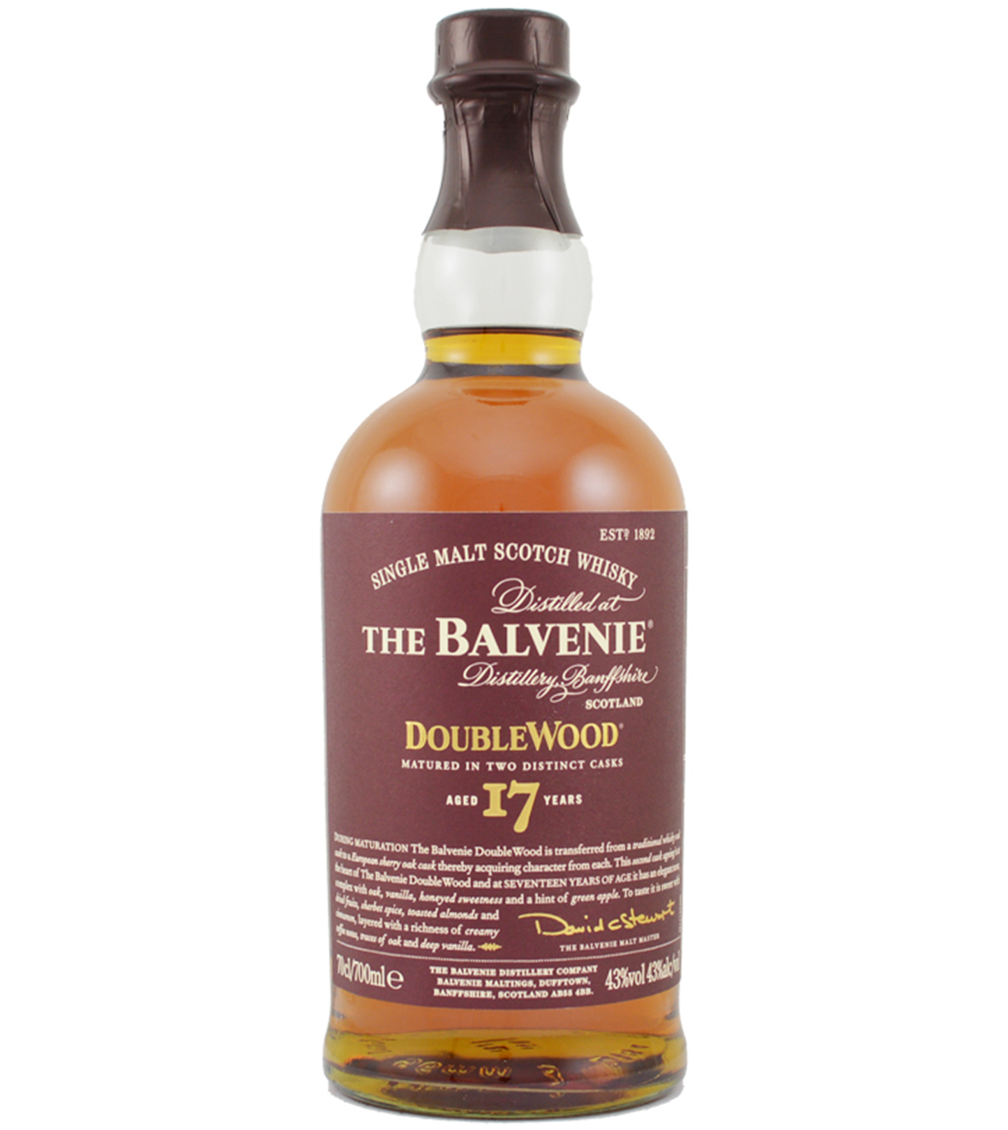 Balvenie 17 years Double Wood