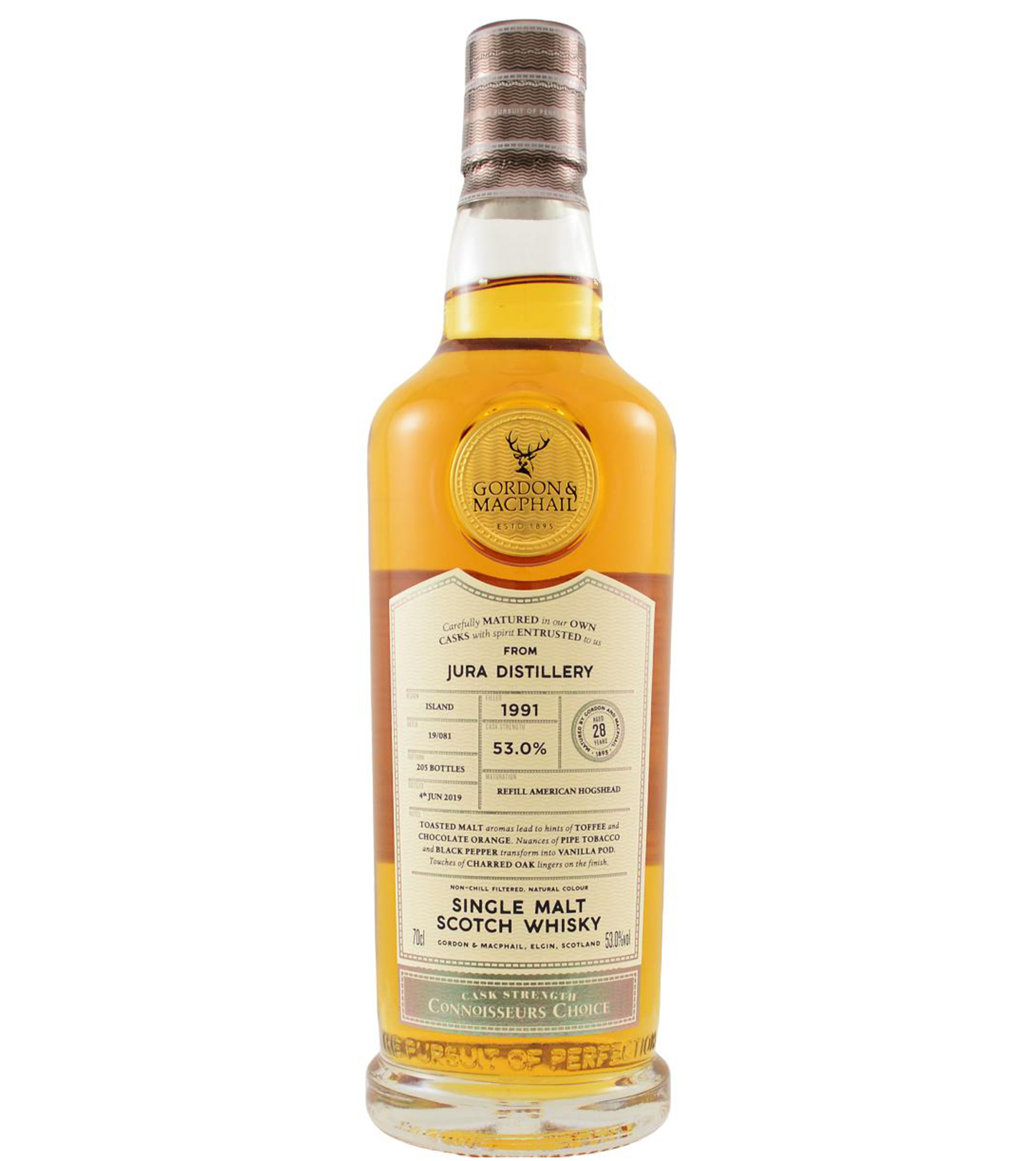 Isle of Jura 1991 28 years – Batch #19/081