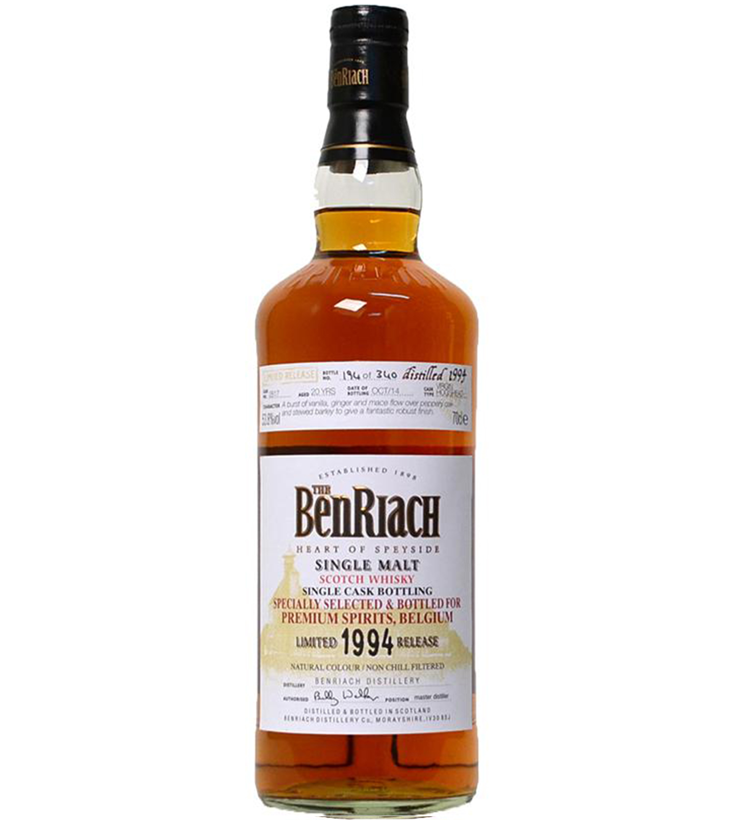 Read more about the article BenRiach 1994 20 years – cask #2817