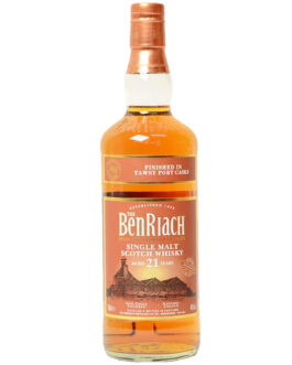 BenRiach 21 years – Tawny Port Finish*