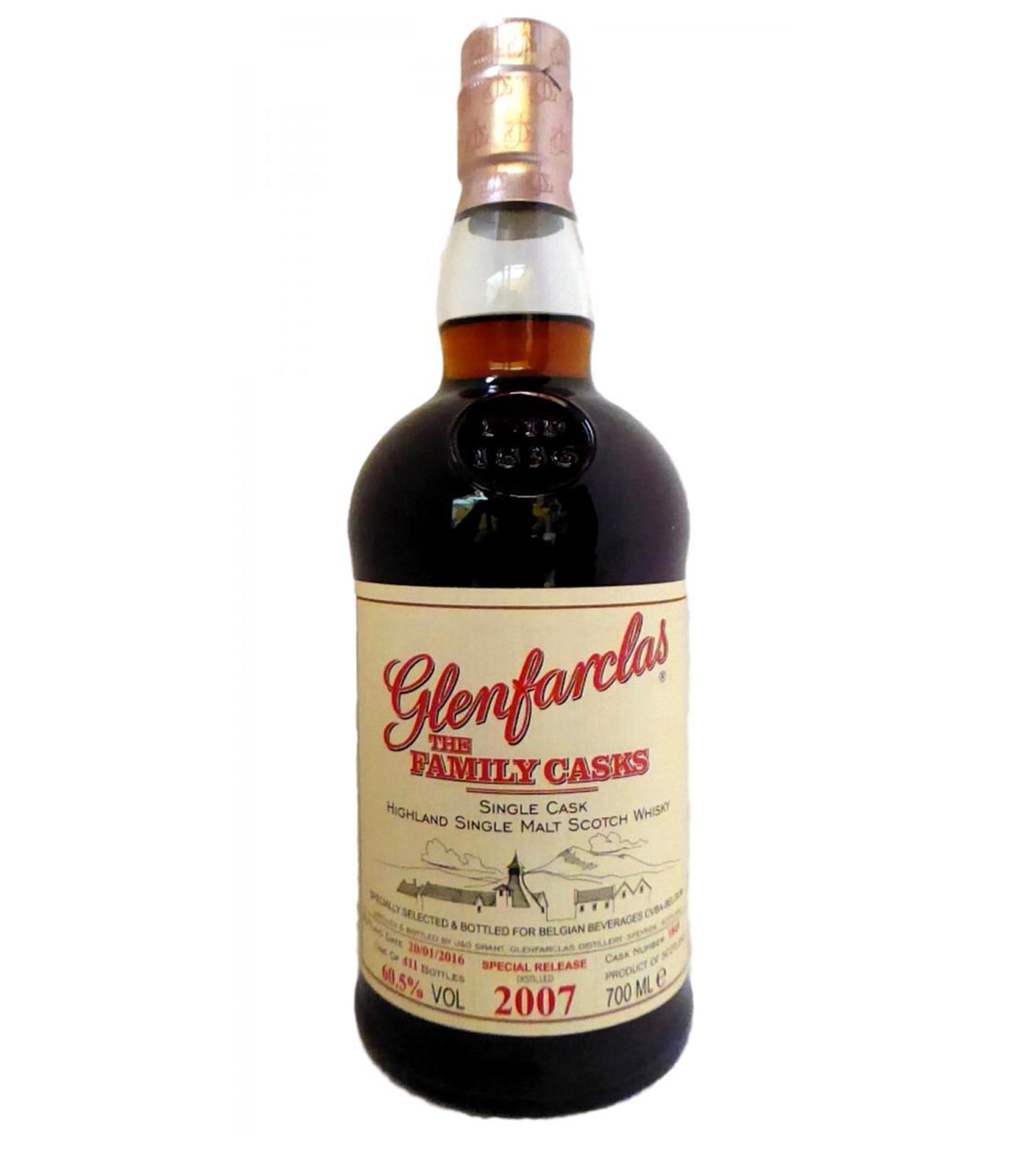 Glenfarclas 2007 9 years – cask #1845