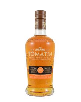 Tomatin 15 years – Moscatel Finish*
