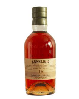 Aberlour 18 years – Bourbon*