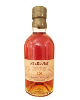 Aberlour 18 years – Sherry*