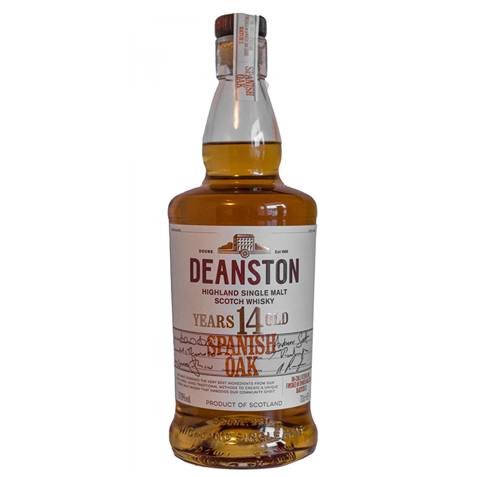 Deanston 14 years – Spanish Oak
