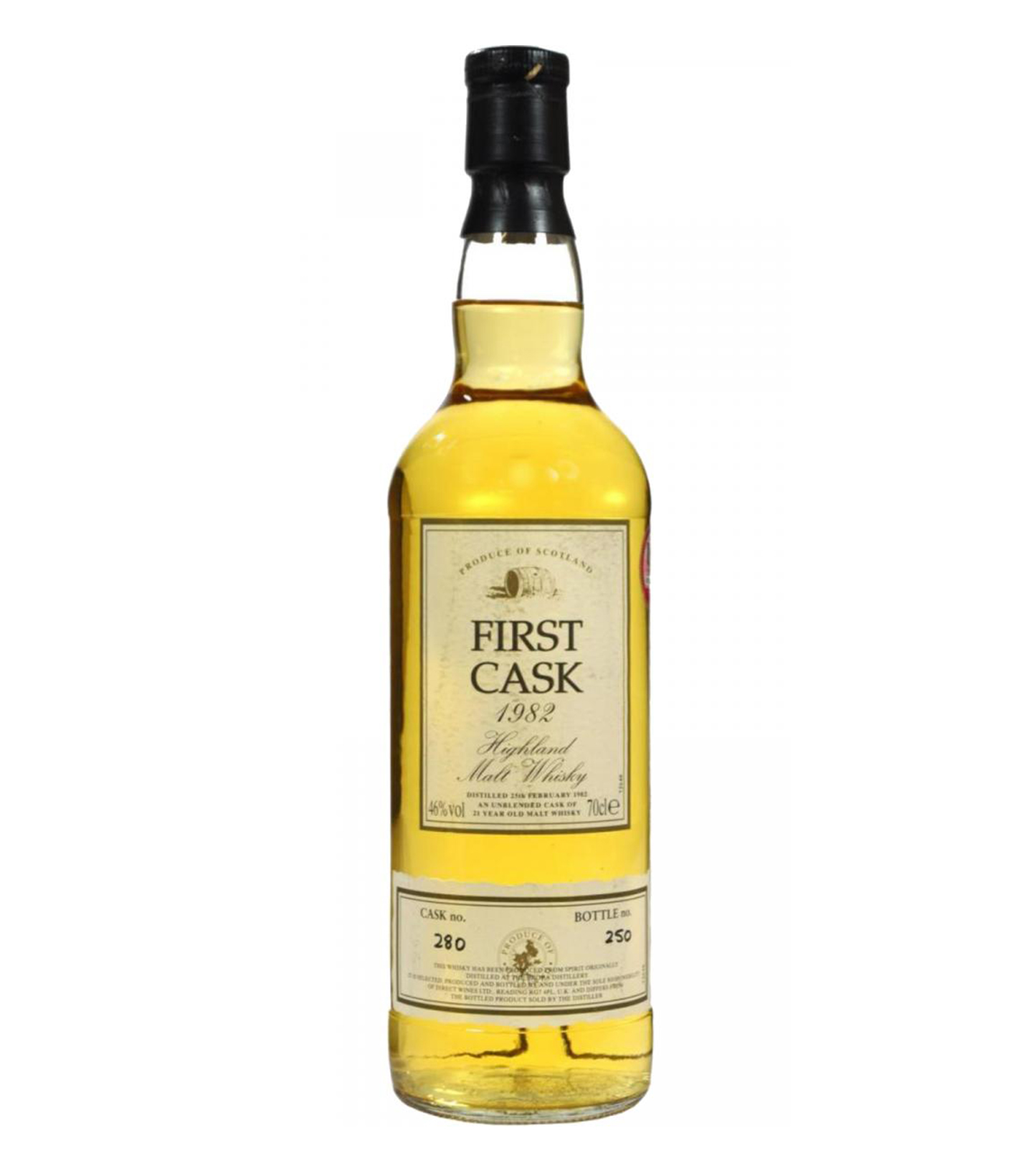 Read more about the article Brora 1982 21 years – cask #280