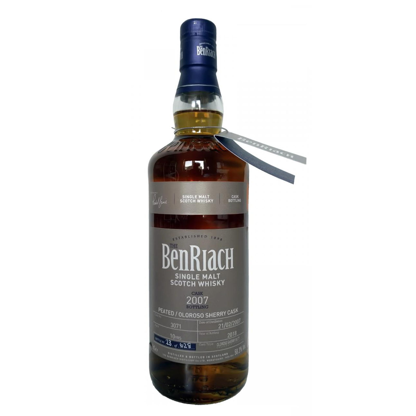 BenRiach 2007 10 years – cask #3071