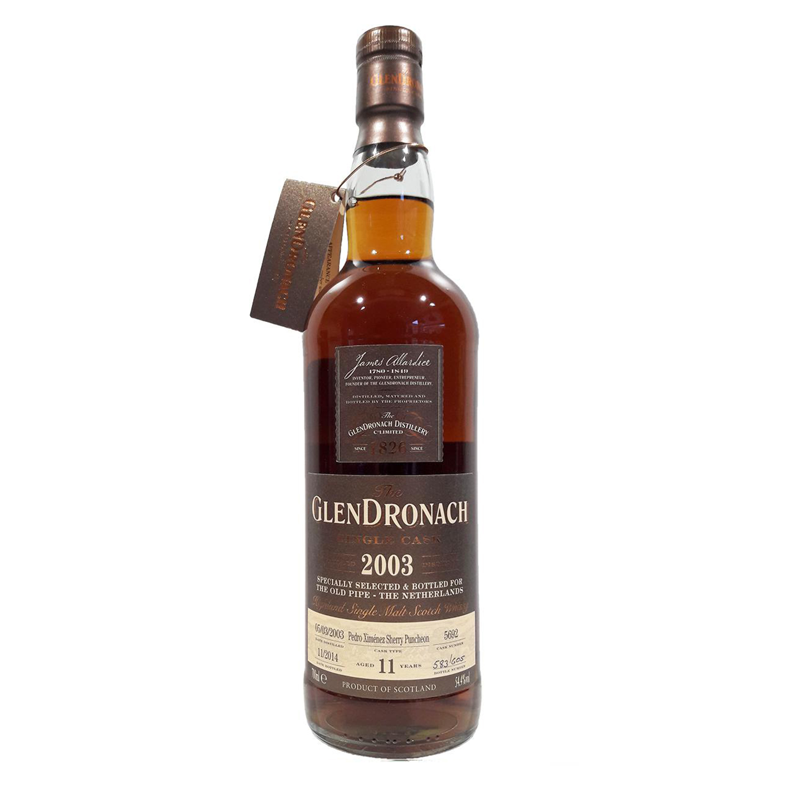 Glendronach 2003 11 years – cask #5692
