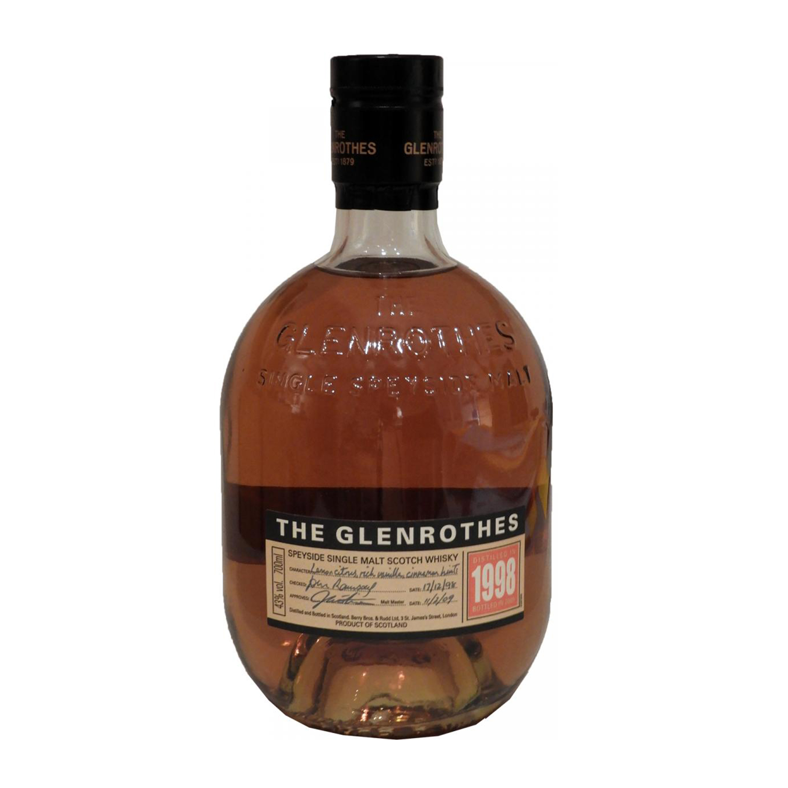 Read more about the article Glenrothes 1998 14 years