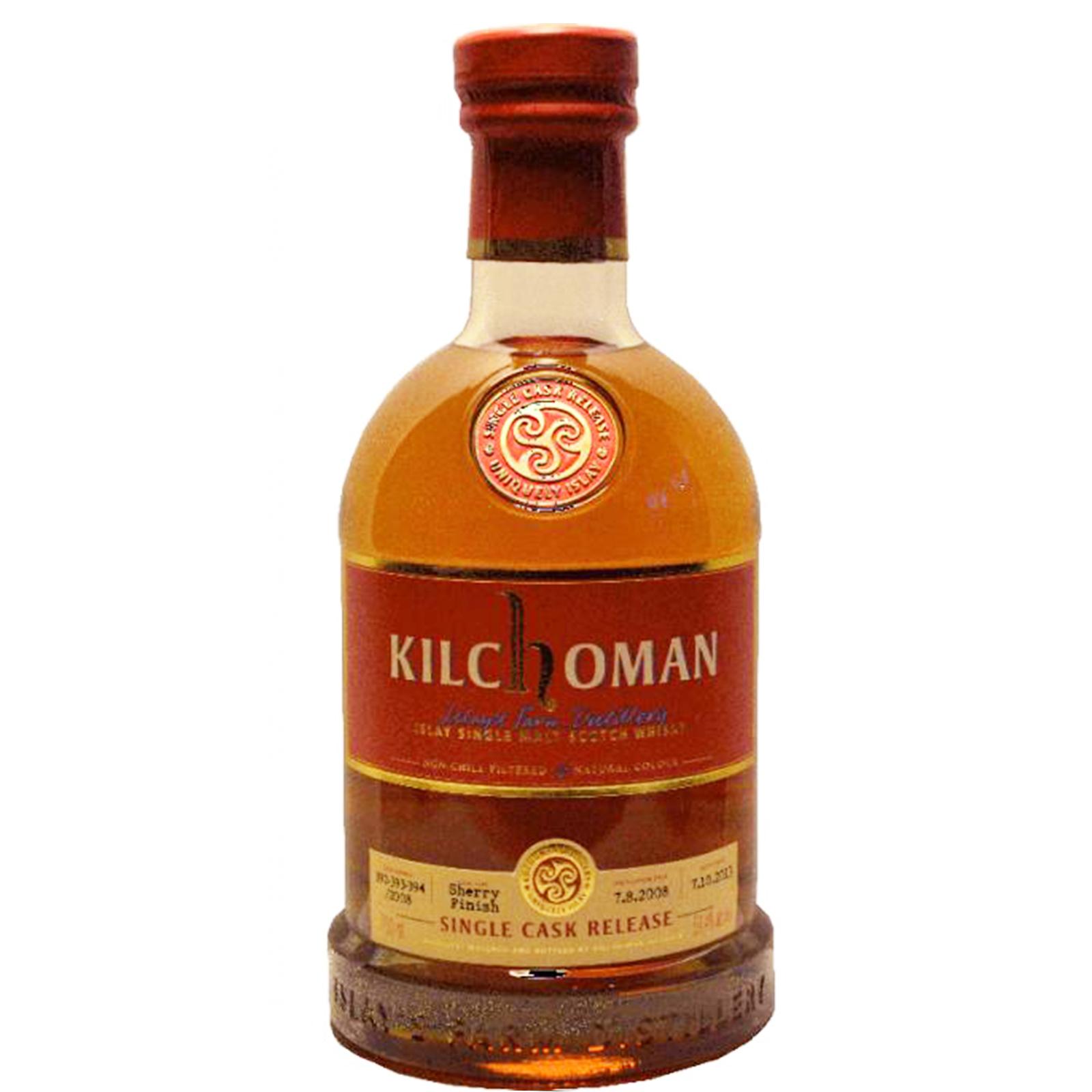 Kilchoman 2008 5 years – cask #392-394/2008