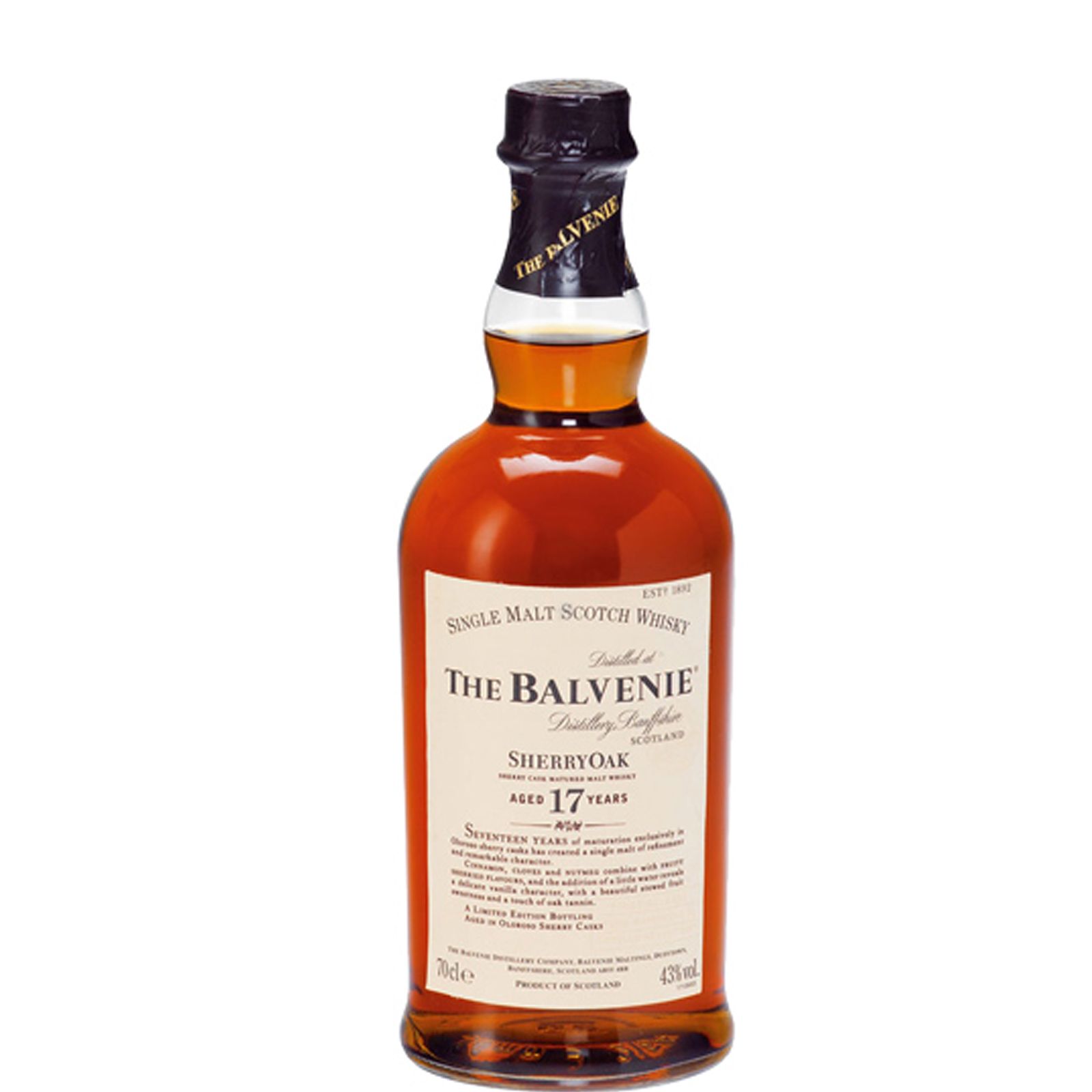 Read more about the article Balvenie 17 years Sherry Cask