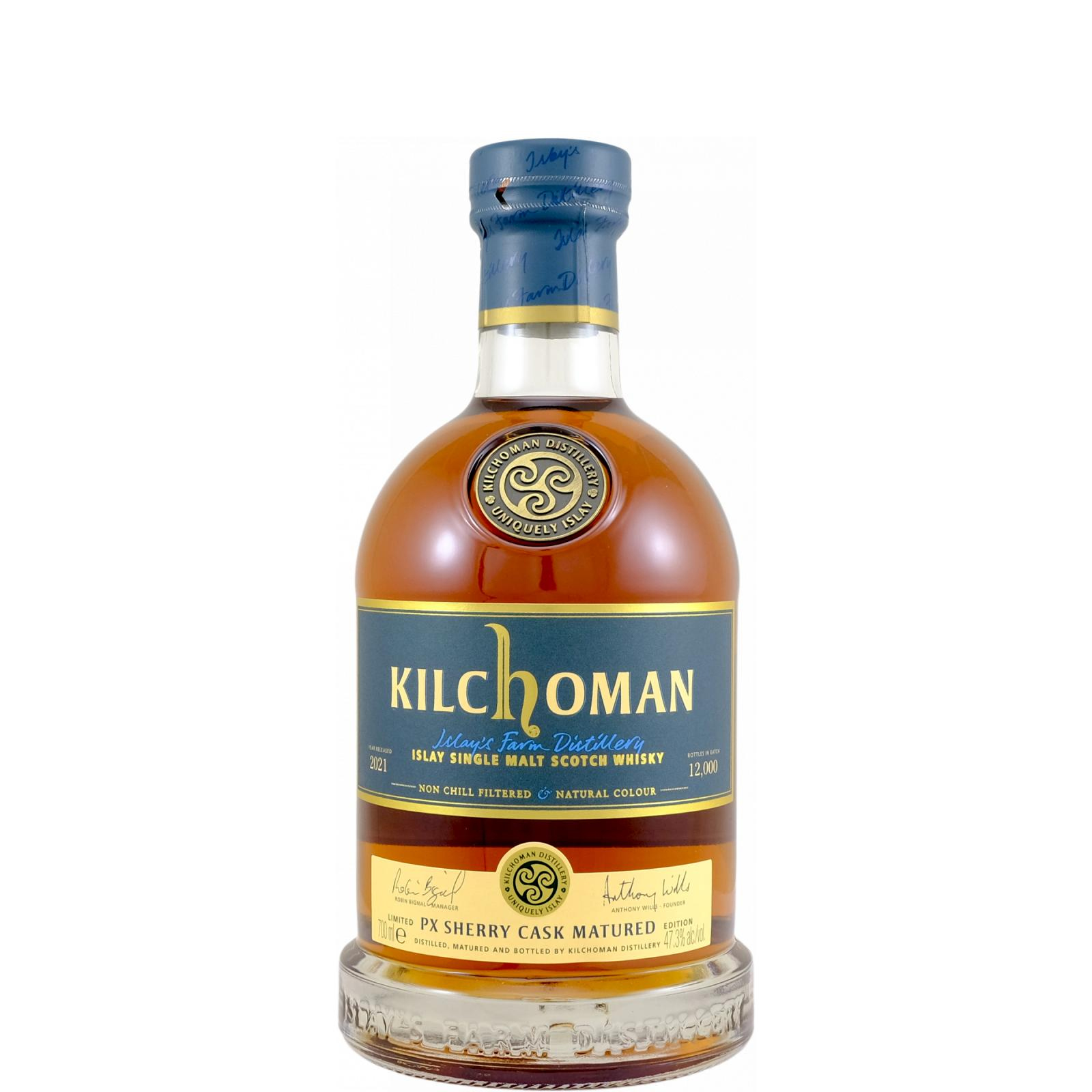 Read more about the article Kilchoman PX Sherry Cask Matured