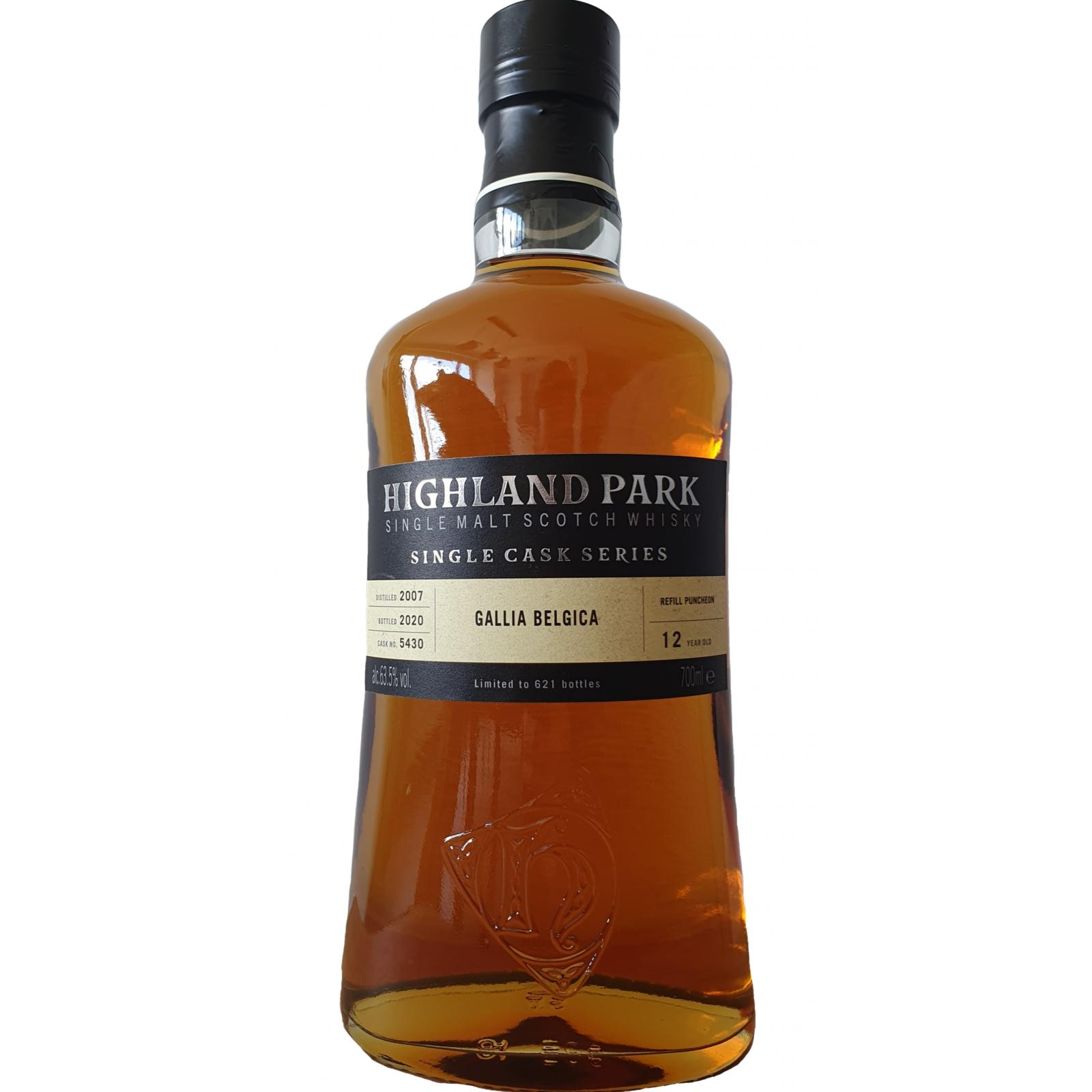 Read more about the article Highland Park 2007 12 years – cask #5430