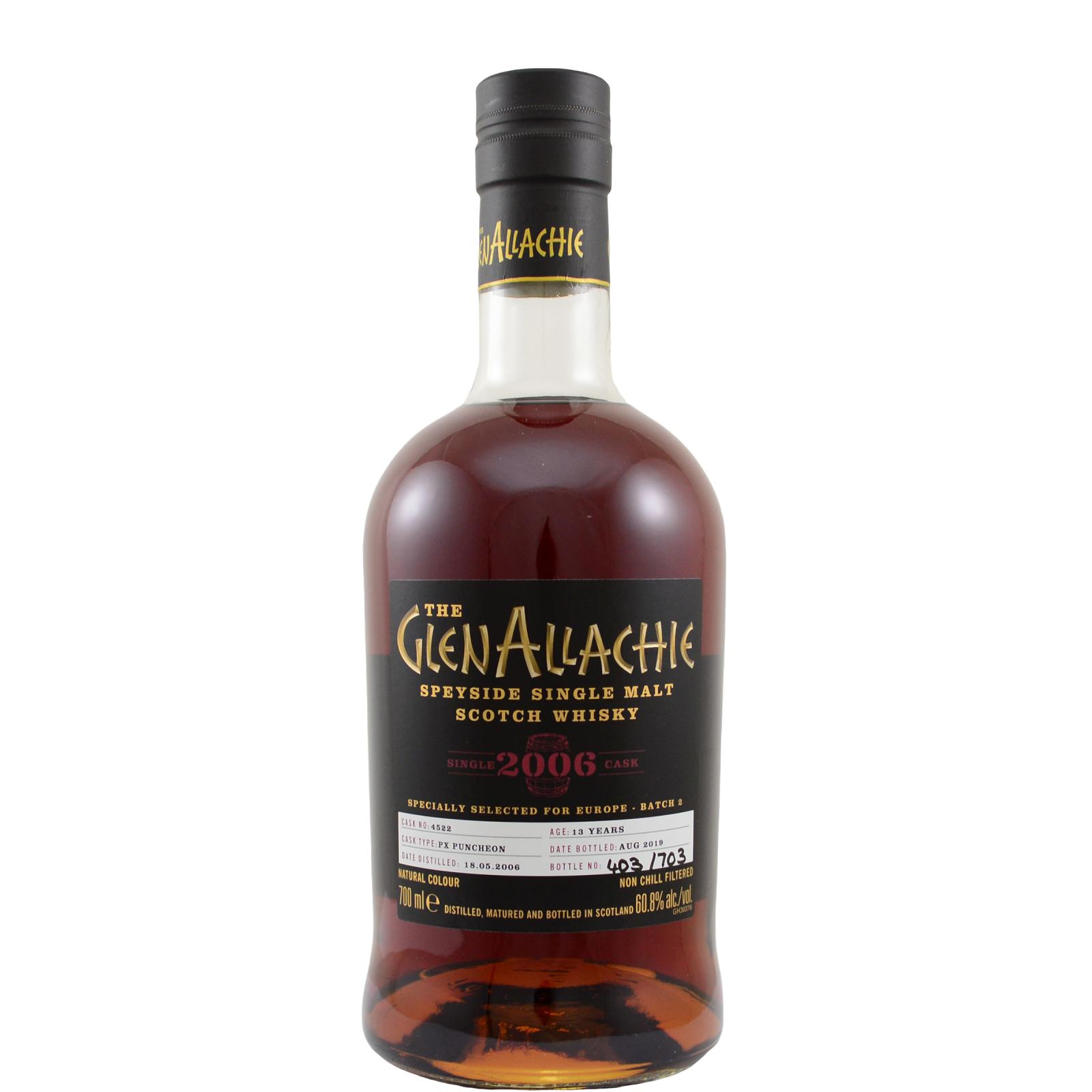 Read more about the article Glenallachie 2006 13 years – cask #4522