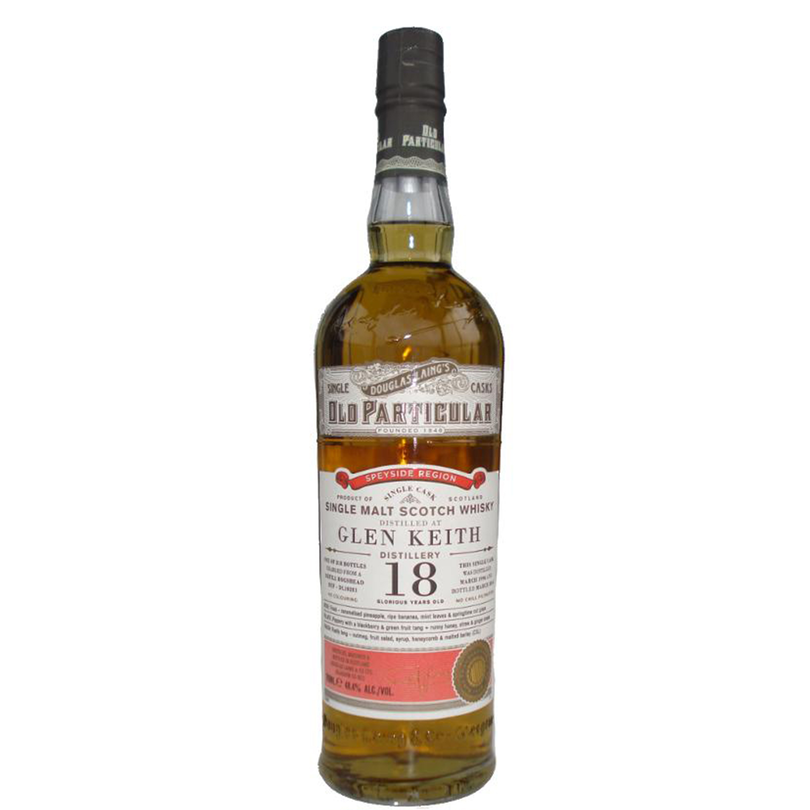 Read more about the article Glen Keith 1996 18 years – cask #10281